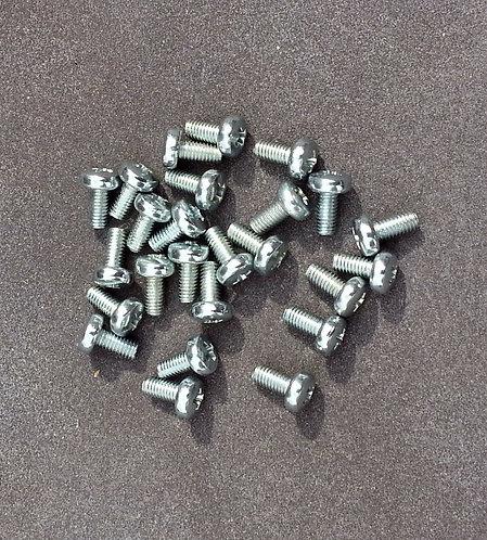 Eurorack module stainless steel screws