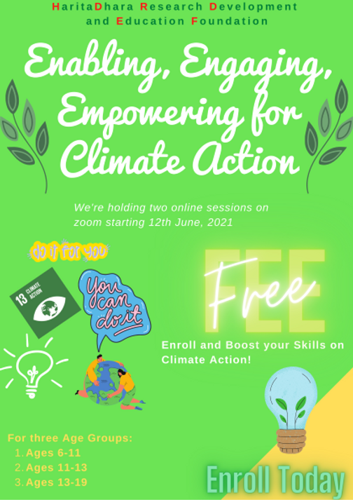 Enabling, Engaging, Empowering for Climate Action