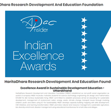 Excellence Award in Sustainable Development Education - Uttarakhand