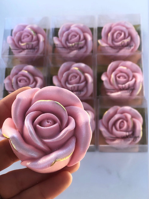 Rose Hot Cocoa Bomb