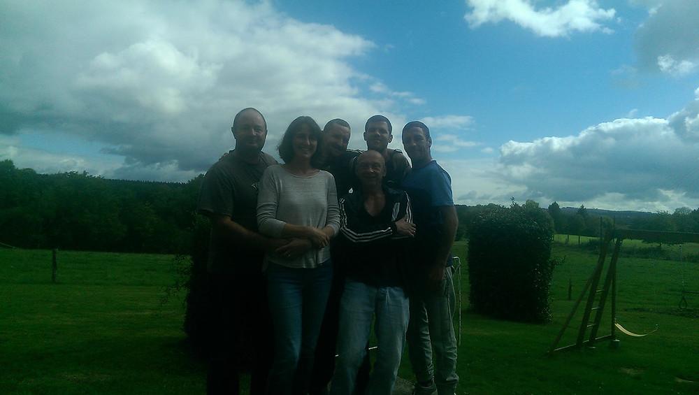 Shaun, David, Jason, Scott, Mark & Leanne