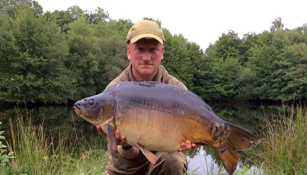 25lb 4oz Mirror - 'Crown Jules' - The Lady of the Lake