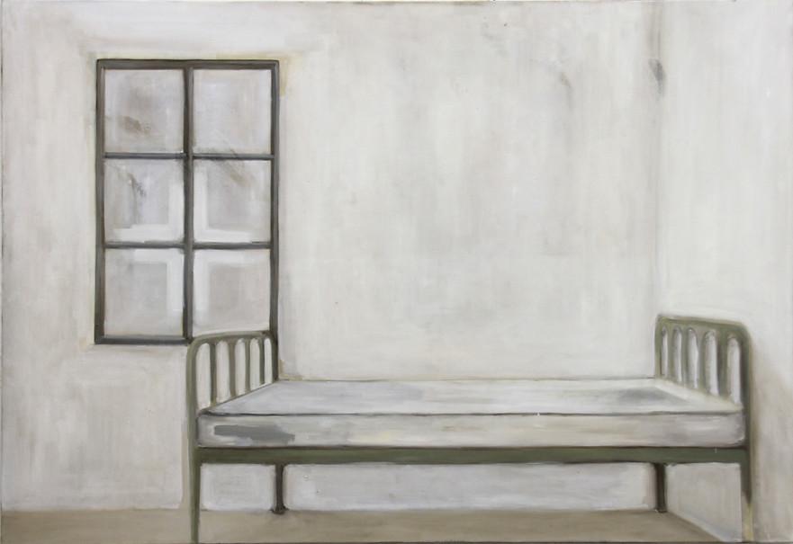 Chambre, huile sur toile, 97x140cm, 2017