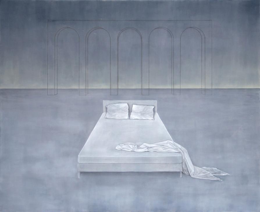 Le lit blanc