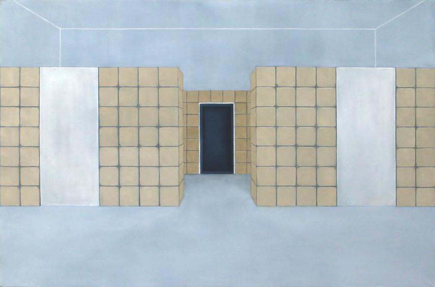 Sans titre, huile sur toile, 97x140cm, 2018