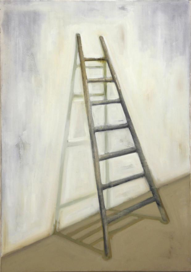 Echelle, huile sur toile, 80x100cm, 2017