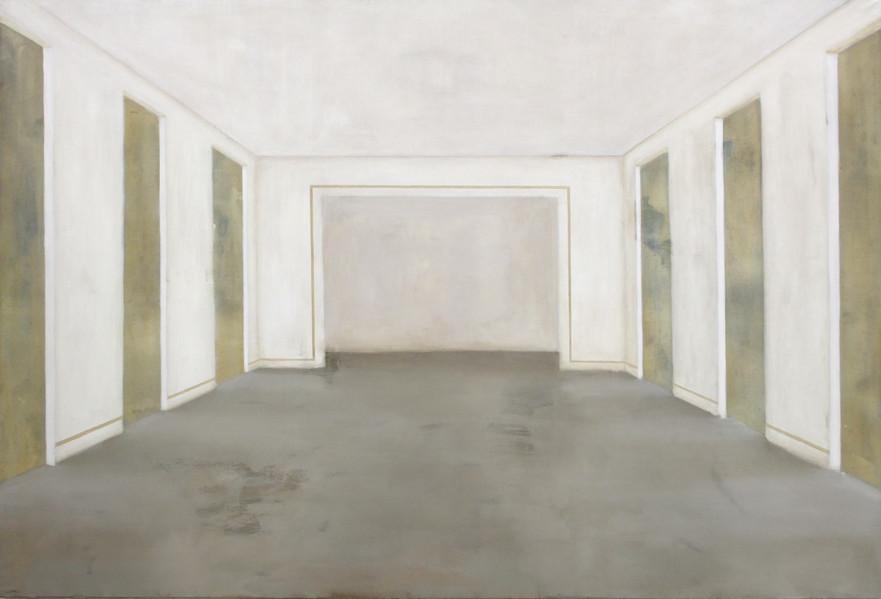 Salle Vogelsang, huile sur toile, 130x195cm, 2017