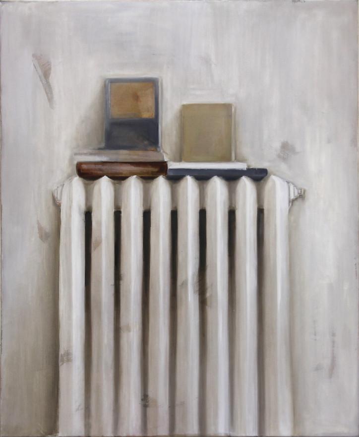 Radiateur, huile sur toile, 89x110cm, 2017