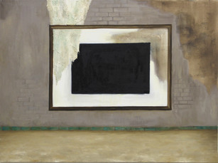 Cadre rectangle noir
