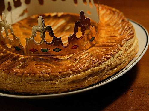 Galette on delivery (8 pers), min 2 galettes.