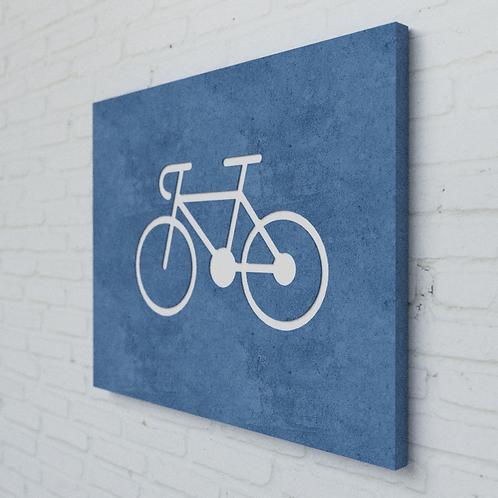Bike Symbolplatte