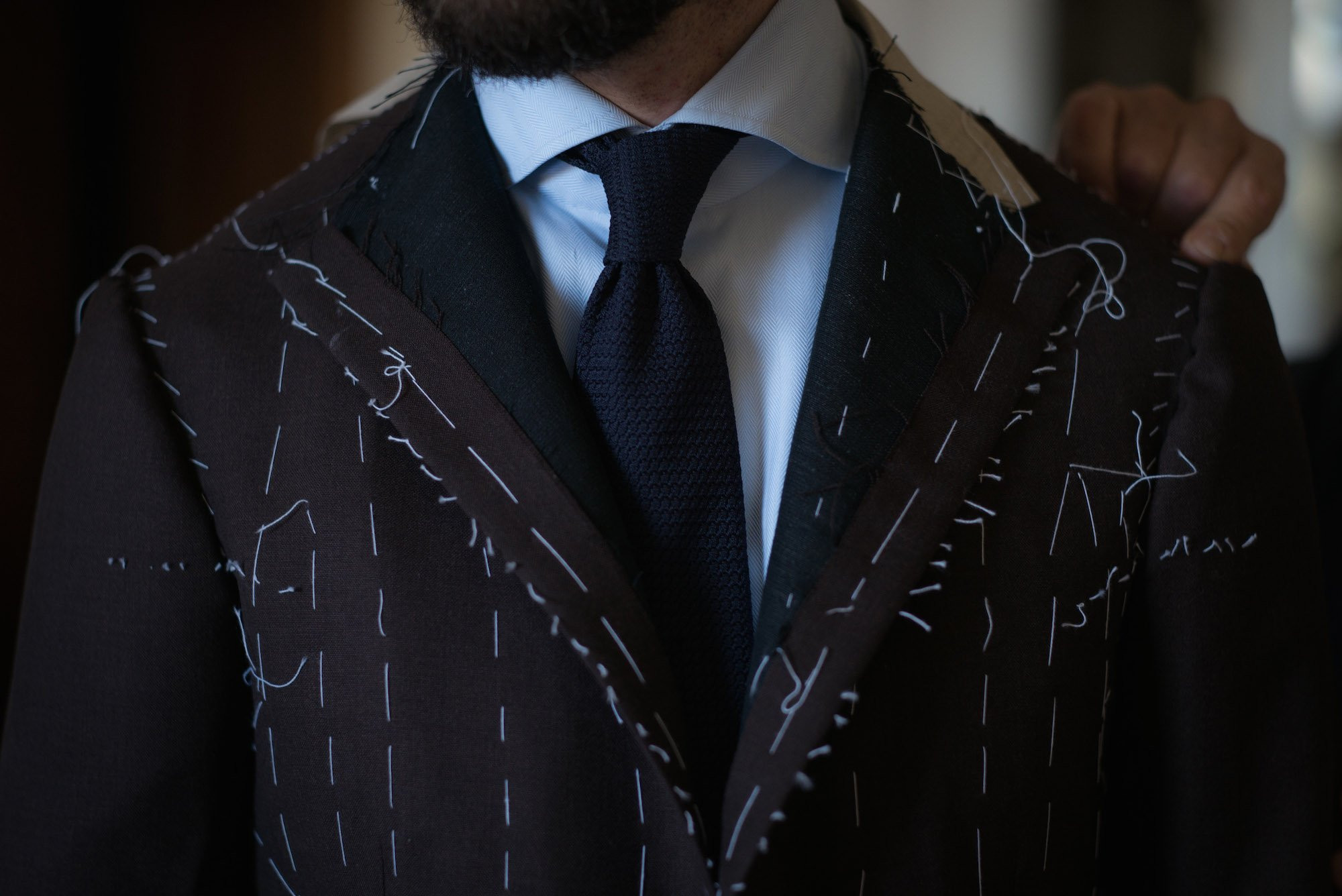 Custom Suit Fitting