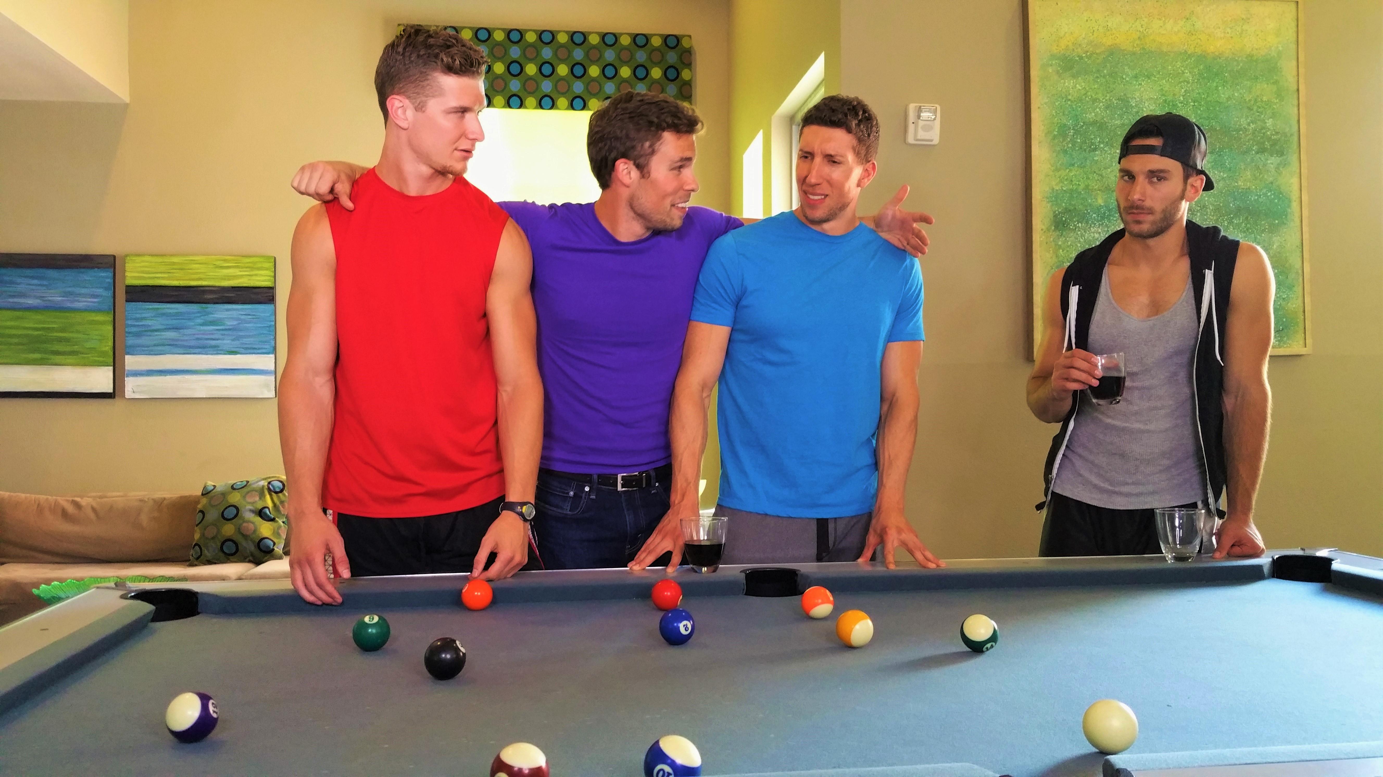 Donovan, Marcus, Chad, Pete
