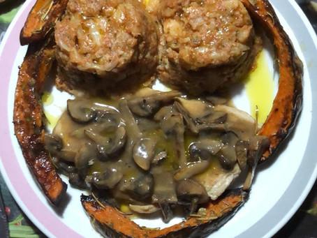 Tempo di zenzero i vs piatti: Tortino cavolfiori e broccoli al profumo di zenzero