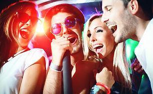 Friends sings