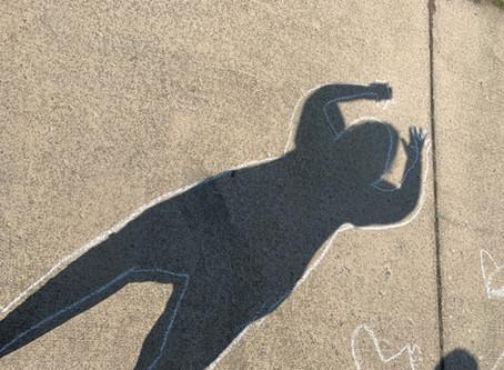 Basketball, Sidewalk Chalk and COVID-19