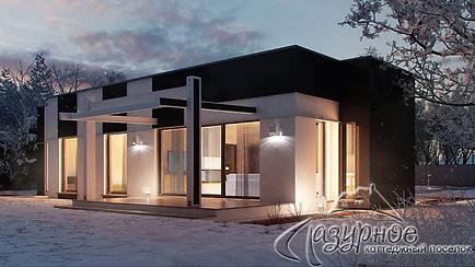 Дома в современном стиле