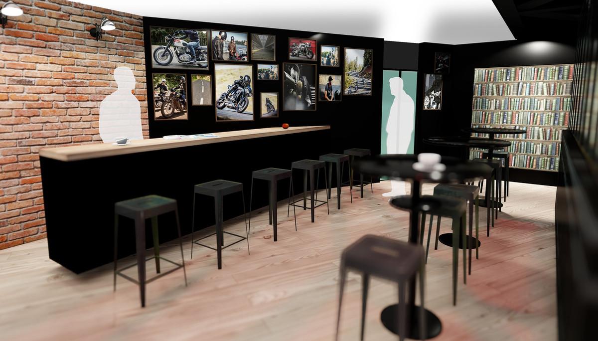 Espace bar Triumph © aplusb