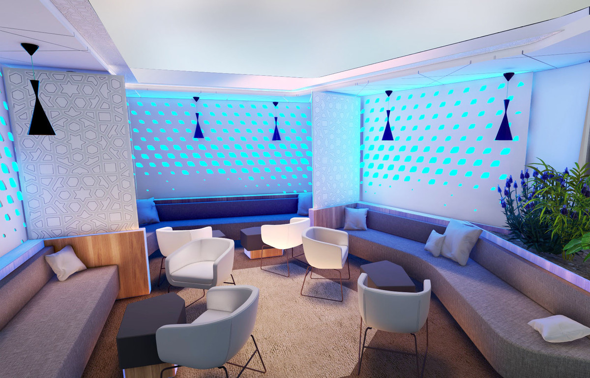 Lounge Airbus © IbooStudio