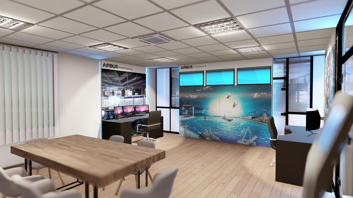 Salle de démonstration Airbus @ IbooStudio