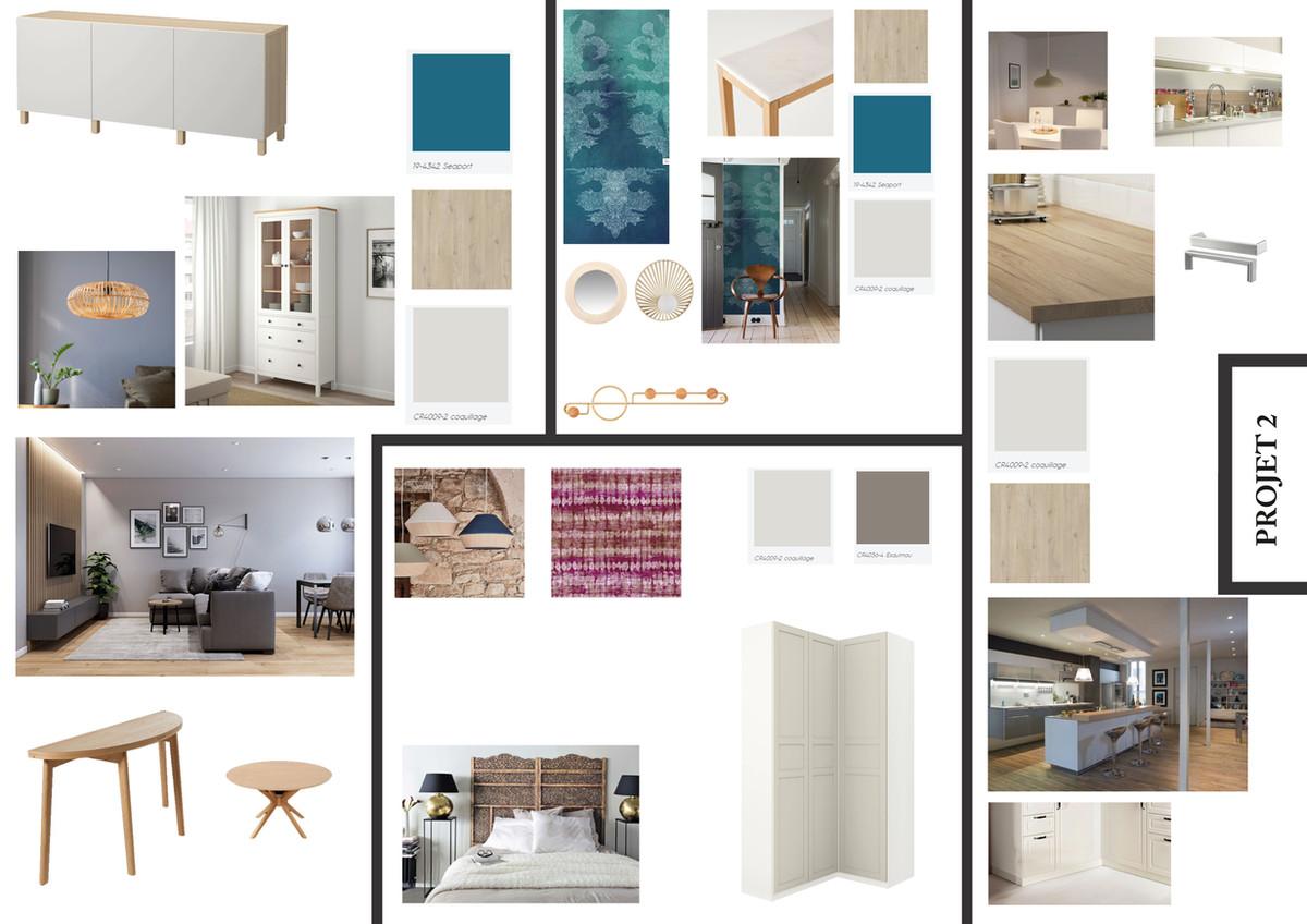 Appartement St Nazaire © Laetitia Jezierski / Mh Déco