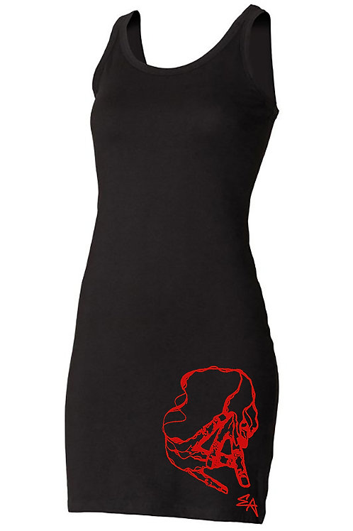 EA extra long stretch tank [red]