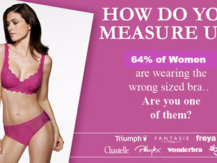 When was the last time you got fitted? How 64% of women are wearing the wrong size bra