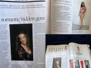 Le Boudoir Lingerie Article in Devon Life