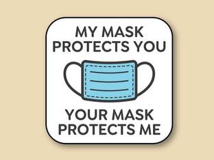 Covid Safety at Le Boudoir Lingerie - Please wear a mask.