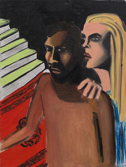 The couple, oil on canvas,45x60.jpg