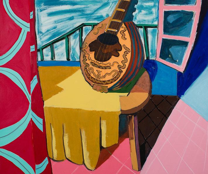 Mandolin, oil on canvas, 130X90.jpg