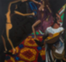Yemeni step, oil on canvas, 150x140.jpg