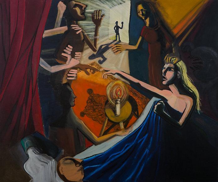 Exorcism, oil on canvas,180x150.jpg