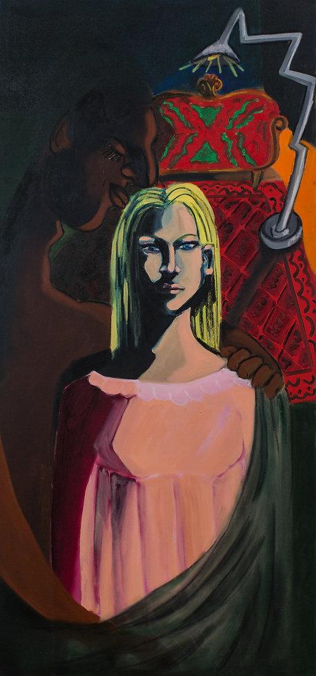 The kiss, oil on canvas,150x70.jpg
