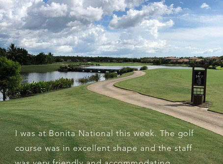 THIS WEEKS SPOTLIGHT GOLF COURSE.