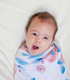 Baby in a swaddle