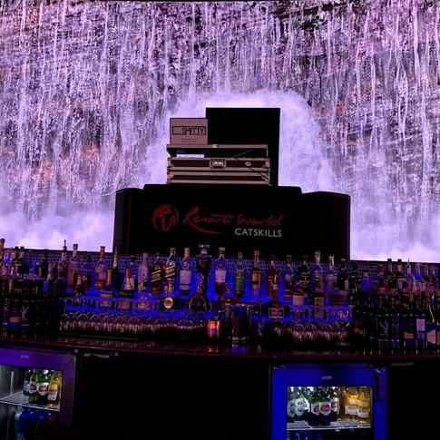 DJ'ing at Resorts World Casino in Monticello, NY