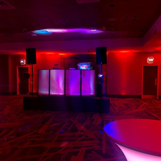 Stranger Things theme party at the ballroom inside Resorts World Casino, Monticello, NY