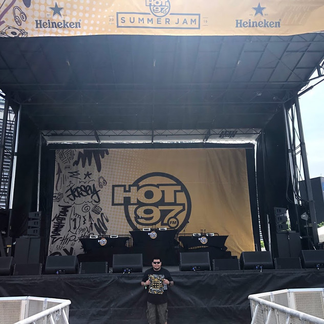My first Summer Jam concert ever. I had a great time working the activations while enjoying an awesome show.