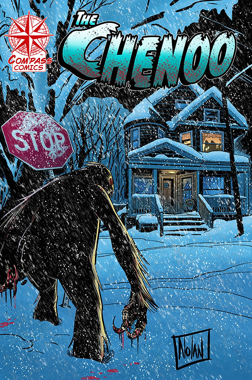 The Chenoo variant cover