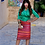 Thumbnail: שמלת ברוקרד הודי
