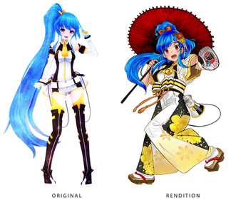 Anime Revolution Mascot Redesign