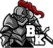 Burnaby Knights Basketball Team Logo