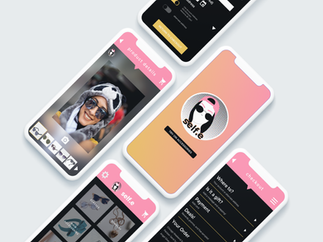 self.e App iPhone Mockups