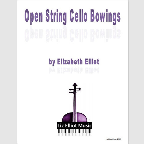 Open String Cello Bowings