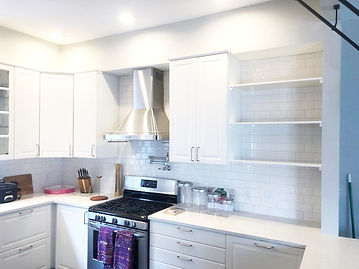 Kitchen Tiling remodel, general contractor - LOK Construction