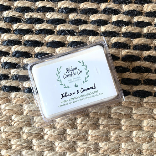 Tobacoo & Caramel Wax Melt