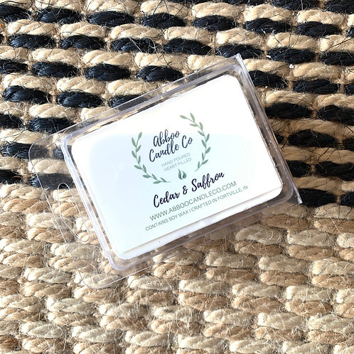 Ceder & Saffron Wax Melt