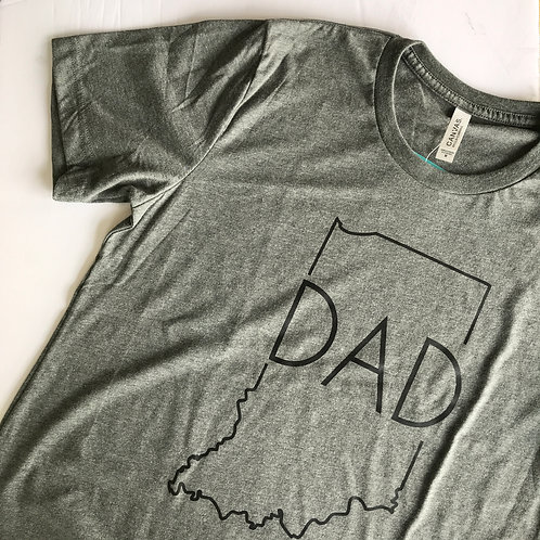 Indiana DAD Tee by Mila & Me
