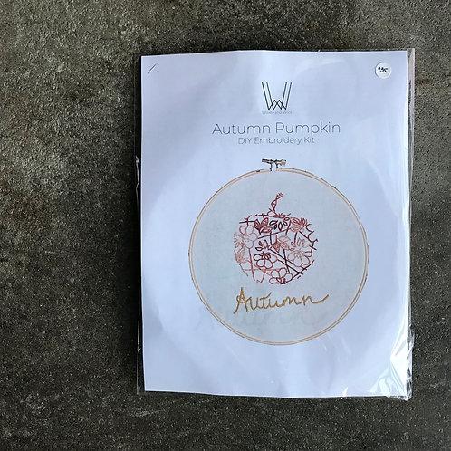 Autumn Embroidery Kit